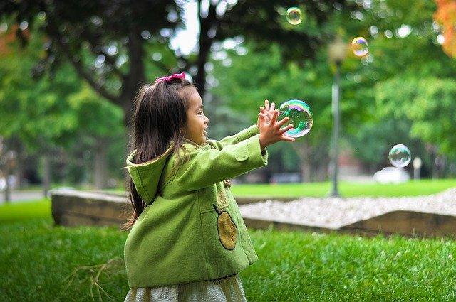 playing kid